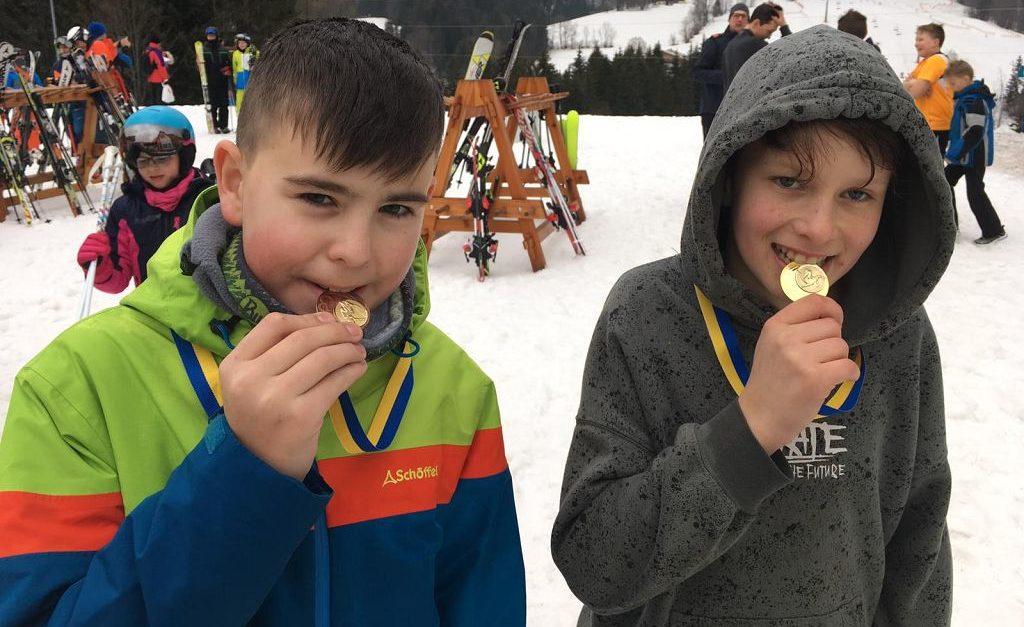 Medaillenregen für Matzleinsdorf