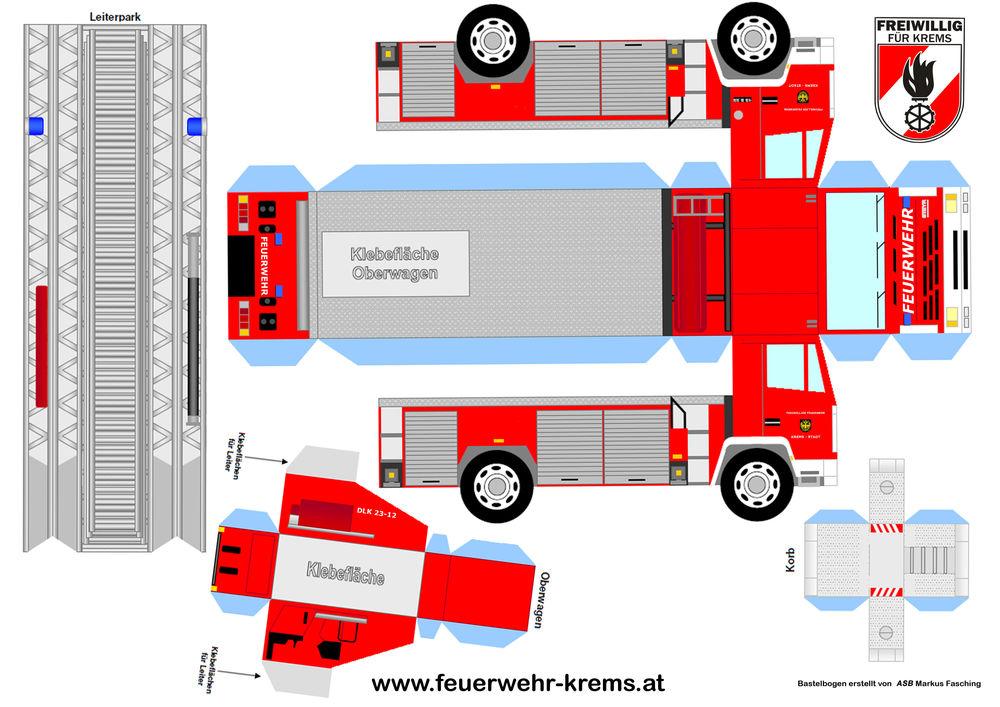 Bastel- und Malspaß mit der Feuerwehr