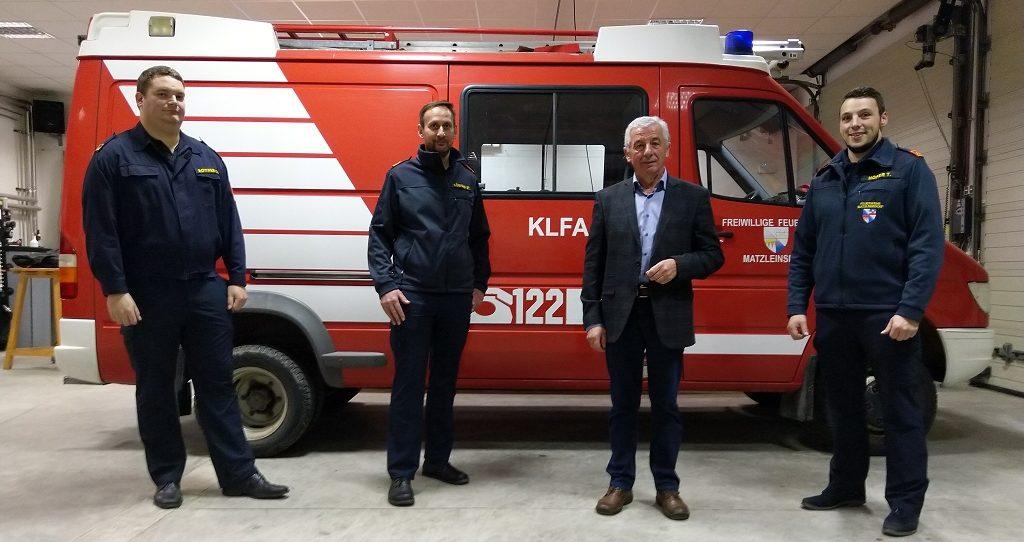 Kommando der Freiwilligen Feuerwehr Matzleinsdorf wieder bestätigt