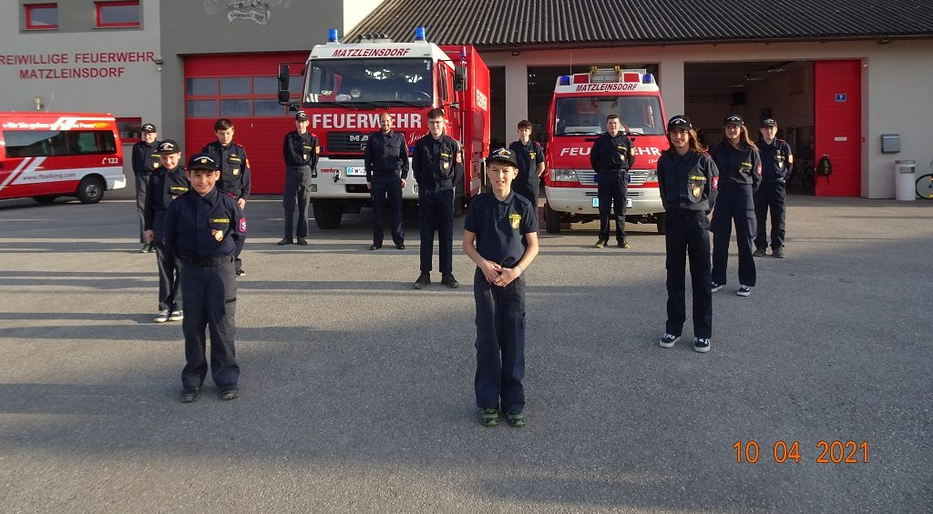 Voller Erfolg beim Wissenstest der Feuerwehrjugend